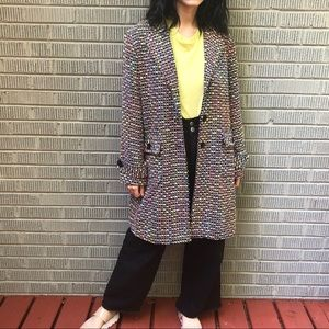 Vintage colorful coat